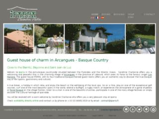 CHAMBRES D'HOTES DE CHARME AUX PAYS BASQUE