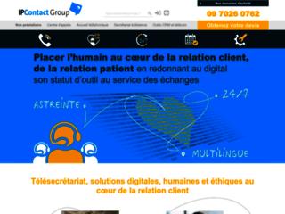 Détails : Ipcontact, services de permanence téléphonique externalisée
