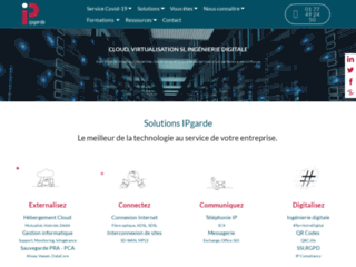 Spécialiste hébergement cloud virtualisation systèmes information