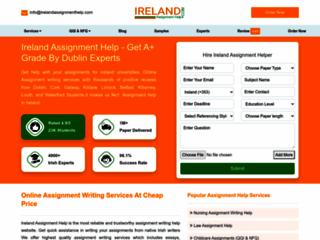 Dissertation Writing Helps Ireland