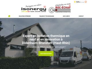 Isonergy - isolation et façade près de Mulhouse