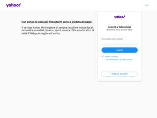 Yahoo! Mail - Yahoo.com - Casella di Posta Elettronica Gratuita @yahoo.com