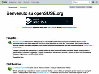 Info: Scheda e opinioni degli utenti : OpenSUSE Linux - Download (sito Ufficiale)