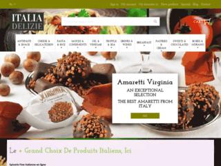 Italiadelizie : le spécialiste des produits italiens