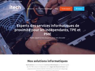 Détails : Spécialiste des solutions informations dans la région des Hauts de France