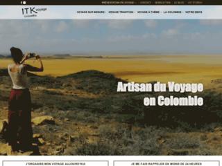 Agence de voyages en Colombie
