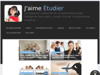 Capture du site http://jaimeetudier.fr/