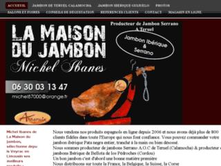 jambon ibérique et Serrano