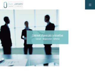 Olivier Jassens, avocat en droit commercial et droit fiscal