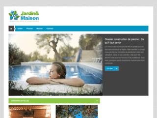 Capture du site http://www.jardin-et-maison.fr/