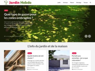 Aperçu du site Jardin Hebdo