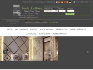 Jardin le Bréa : Hôtel de charme pour un week end à Paris 06