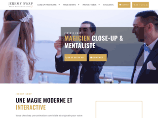 Jeremy Swap : votre magicien Close-up à Monaco
