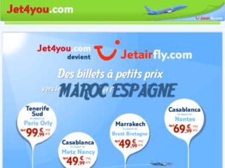 Destination Maroc avec les vols pas cher, Jet4You