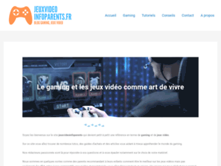 JEUX VIDEO INFO PARENTS