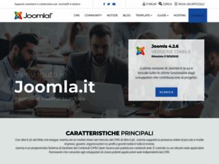 Info: Scheda e opinioni degli utenti : Joomla! è un software open source per la realizzazione di siti Internet. - CMS