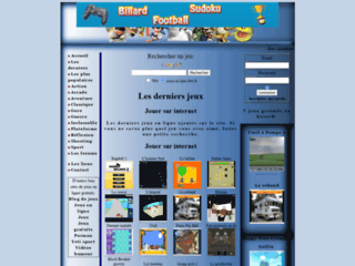 Jeux en ligne