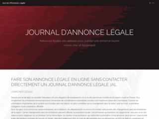 journal-d-annonce-legale