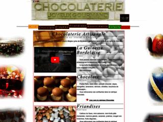 Capture du site http://www.joyeuxgourmand.fr