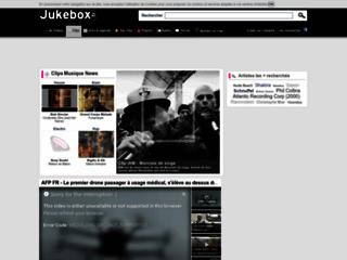 Détails : Jukebox  vidéo et clip vidéo à télécharger - musique mp3