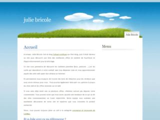 Julie Bricole: blog de loisirs créatifs