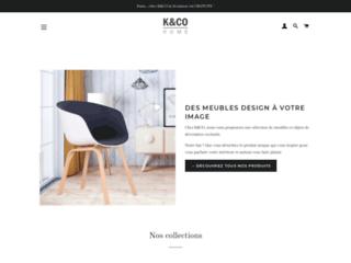 Détails : Société de vente en ligne de meubles scandinaves