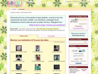 Partage d'idées créatives en ligne -  Karacole