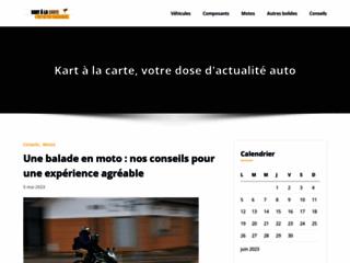 Détails : Le karting, présent sur la toile