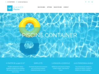 Détails : piscine container