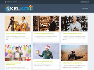 Détails : Des idées de cadeaux sur Kelkdo