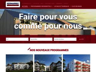 Aperçu du site Kermarrec Promotion