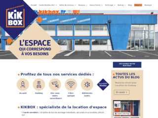 Kikbox Garde meuble - Bureaux a louer