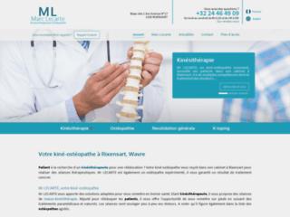 Thérapie manuelle - kinésithérapeute Wavre, Rixensart - M. Lecarte