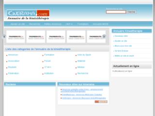 KineWeb : Ressources et informations en kinésithérapie.