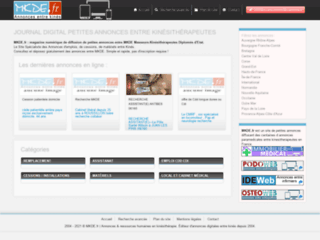 KineWeb.fr - Petites annonces de kinesitherapeutes