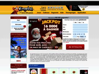 page accueil de la loterie kingoloto