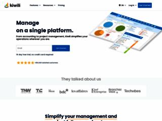 Kiwili, le logiciel de gestion en ligne