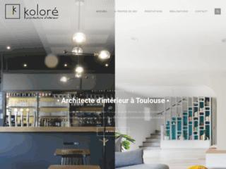 Entreprise Koloré, architecture d'interieur, Toulouse