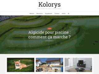 Aperçu du site Kolorys