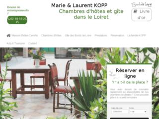 Chambres et table d'h�tes dans le Loiret