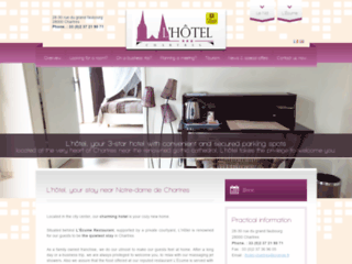 L-Hotel à Chartres, réservez votre séjour