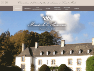 Chambres d'hôtes Manoir de la Baronnie