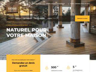 Détails : La compagnie du baobab: pour la conception de terrasses en bois