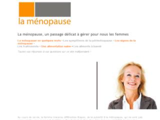 Site indépendant sur la ménopause sur http://la-menopause.blogspot.com