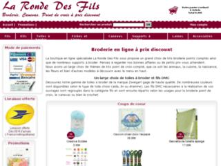 Boutique en ligne pour point de croix - La ronde des fils