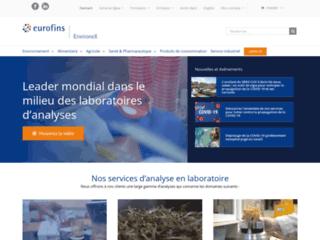 Détails : Laboratoire d'analyses au Québec – Groupe EnvironeX