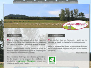 Capture du site http://www.labergerieduouchy.fr