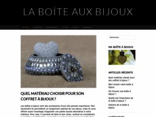 La boite aux bijoux fantaisie