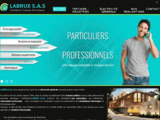 Labrux S.A.S : Expert en Travaux d'Electricité Générale et Domotique