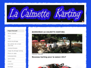 Week-end  pilotage Karting dans le gard à La calmette. Week-end sportif